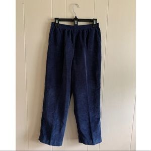 Alfred Dunner blue corduroy pants